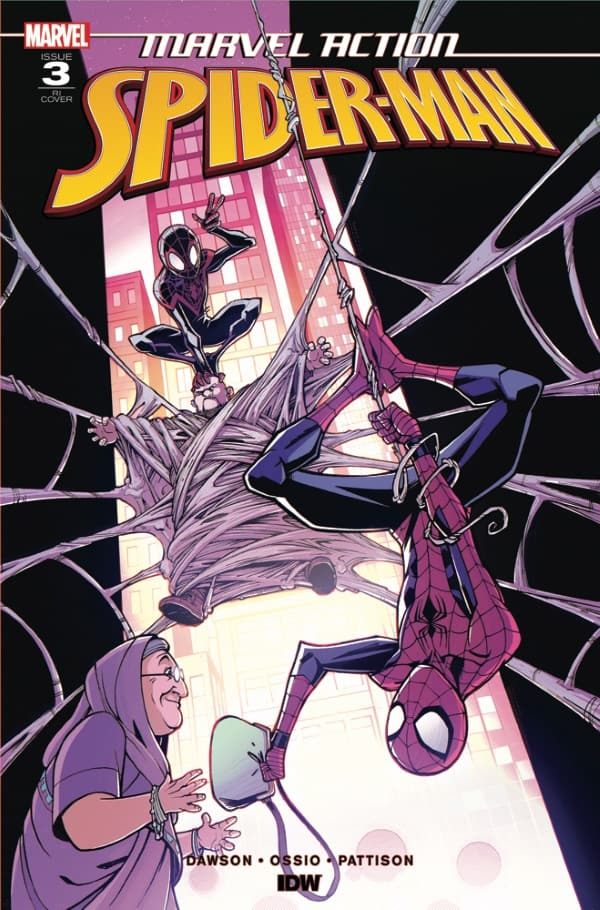 Marvel Action: Spider-Man #3 - Retailer Incentive