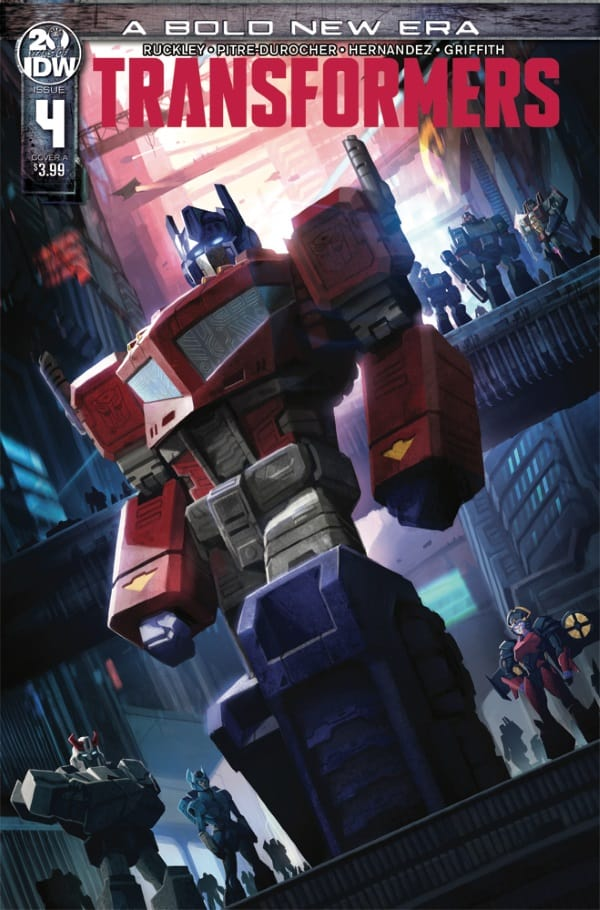 Transformers #4 - Cover A