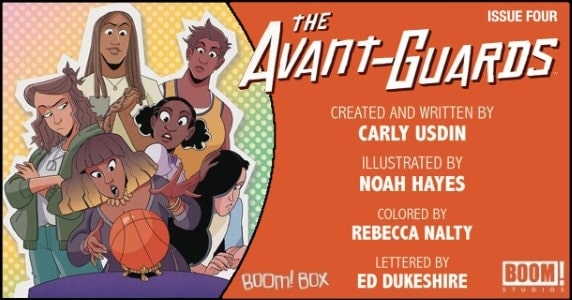 The Avant-Guards #4 preview feature