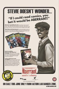 Aberrant - Stevie Wonder Ad (June)