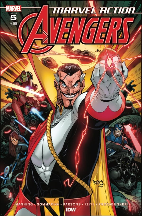 Marvel Action: Avengers #5 - Cover A