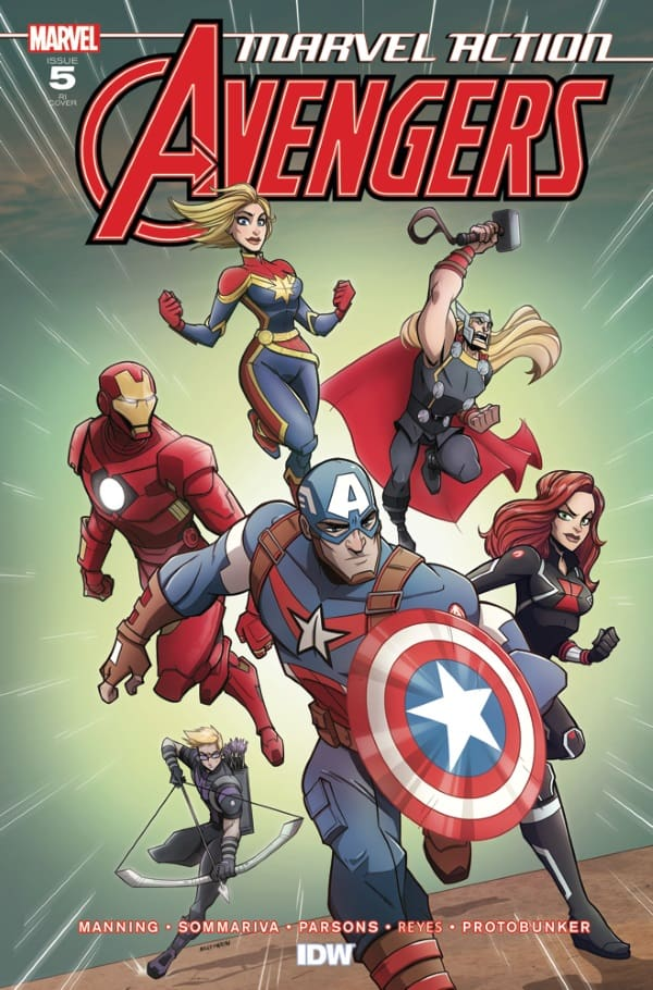 Marvel Action: Avengers #5 - Retailer Incentive Cover
