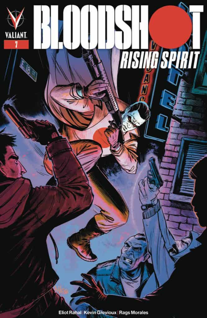 BLOODSHOT RISING SPIRIT #7 - Cover C