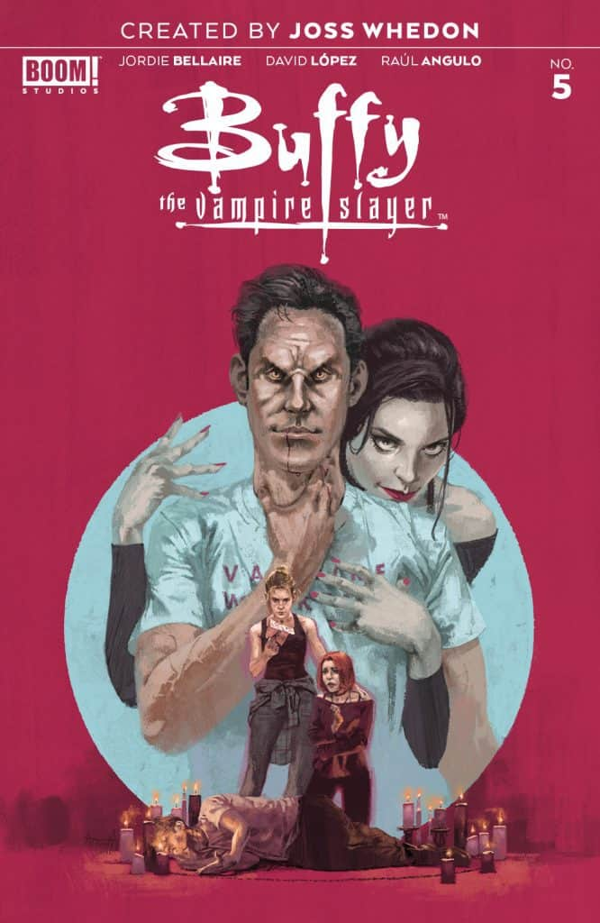 Buffy The Vampire Slayer #5 - Main Cover