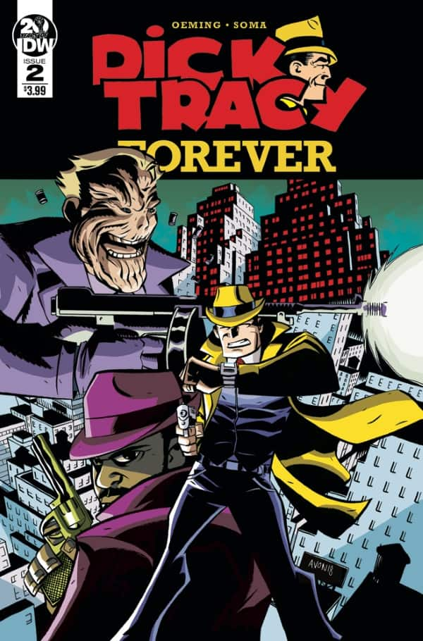 Dick Tracy Forever #2 - Cover A