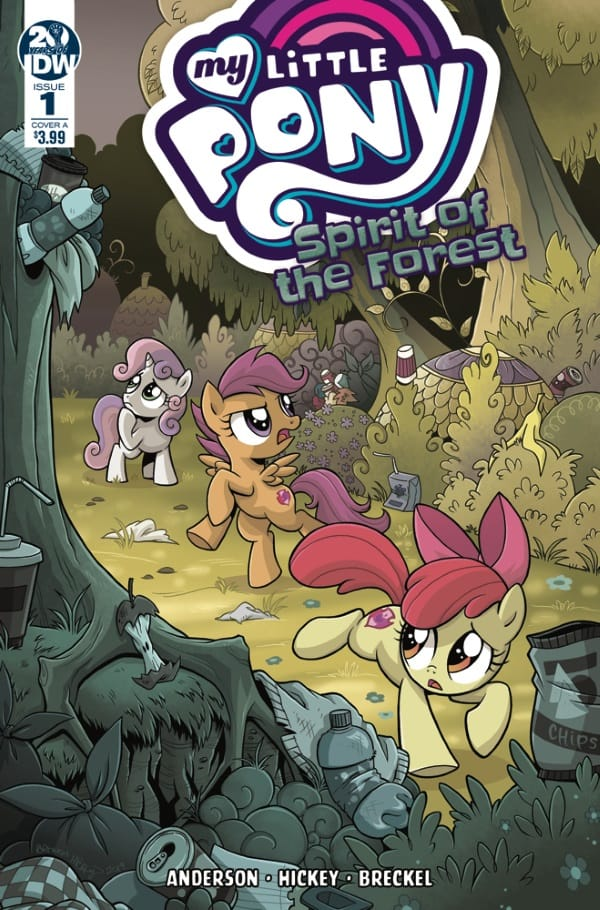 My Little Pony: Spirit of the Forest #1 - Cover A