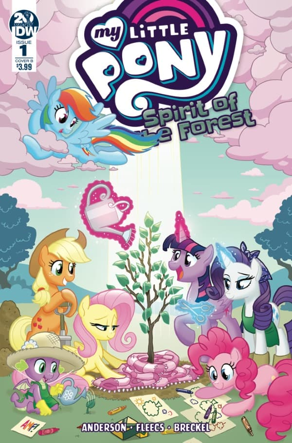My Little Pony: Spirit of the Forest #1 - Cover B