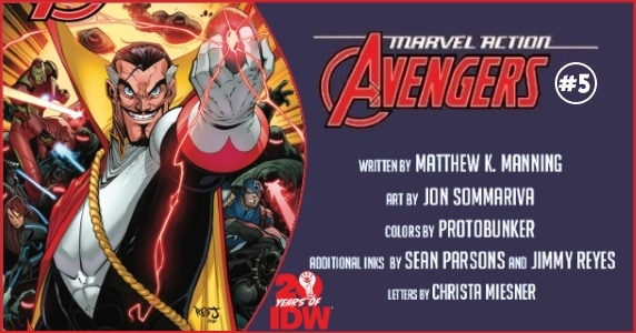 Marvel Action Avengers #5 preview feature