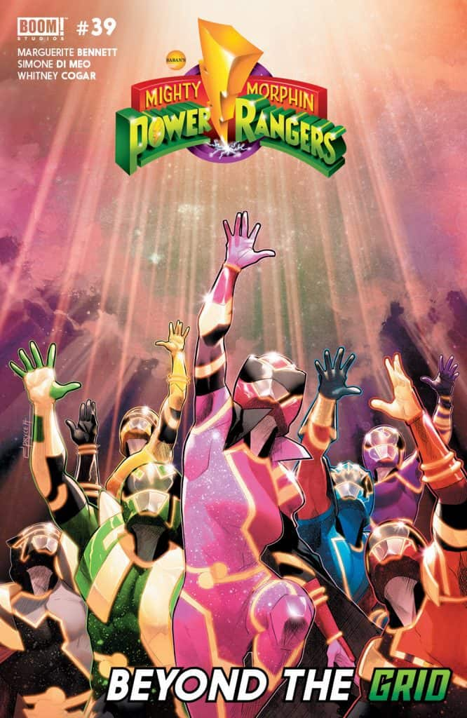 Mighty Morphin Power Rangers #39 - Main Cover