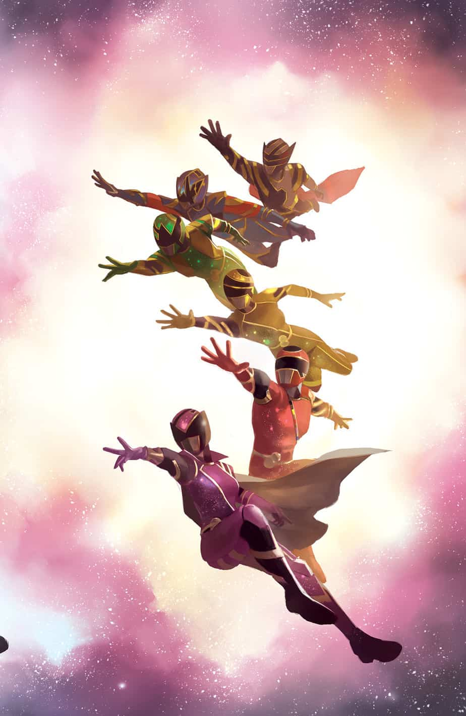 Mighty Morphin Power Rangers #39 - Unlocked Retailer Incentive Cover