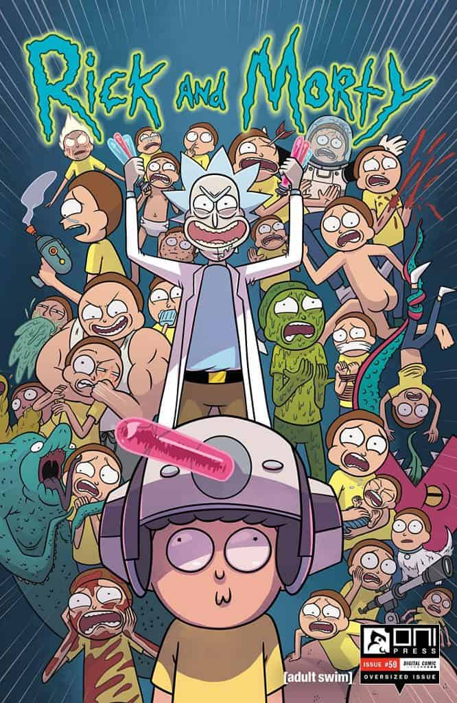 Rick and Morty #50 - Main Cover