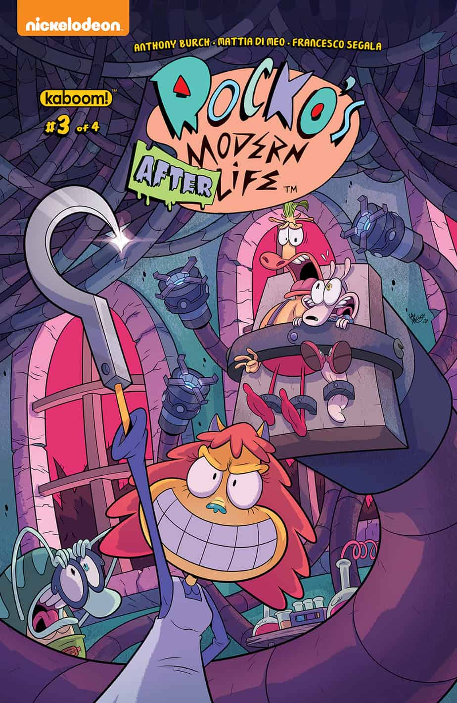 Rocko's Modern Afterlife #3 - Main Cover