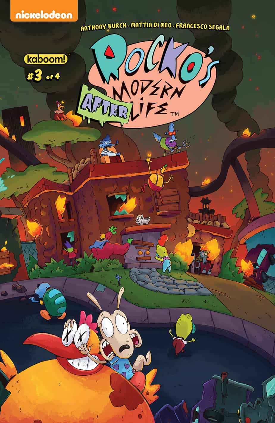 Rocko's Modern Afterlife #3 - Preorder Cover
