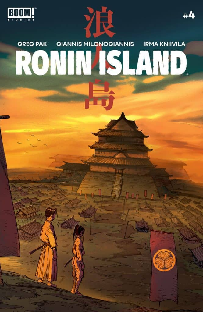 Ronin Island #4 - Main Cover