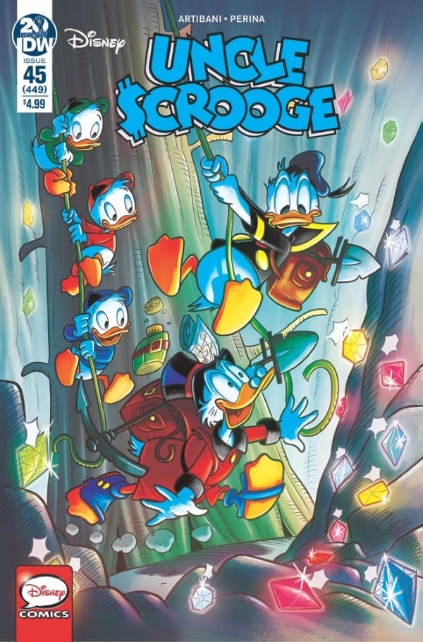 Uncle Scrooge #45 - Cover A