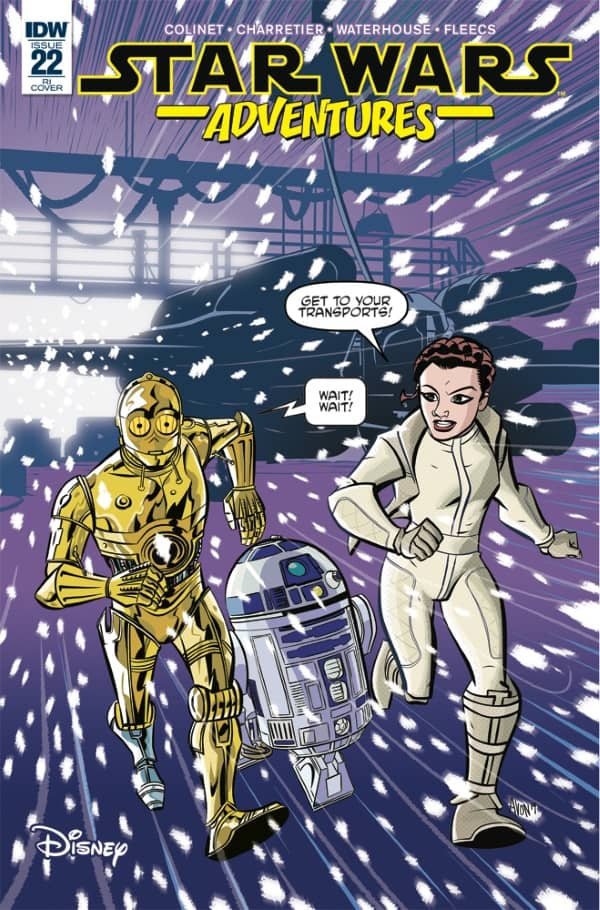 Star Wars Adventures #22 - Retailer Incentive Cover
