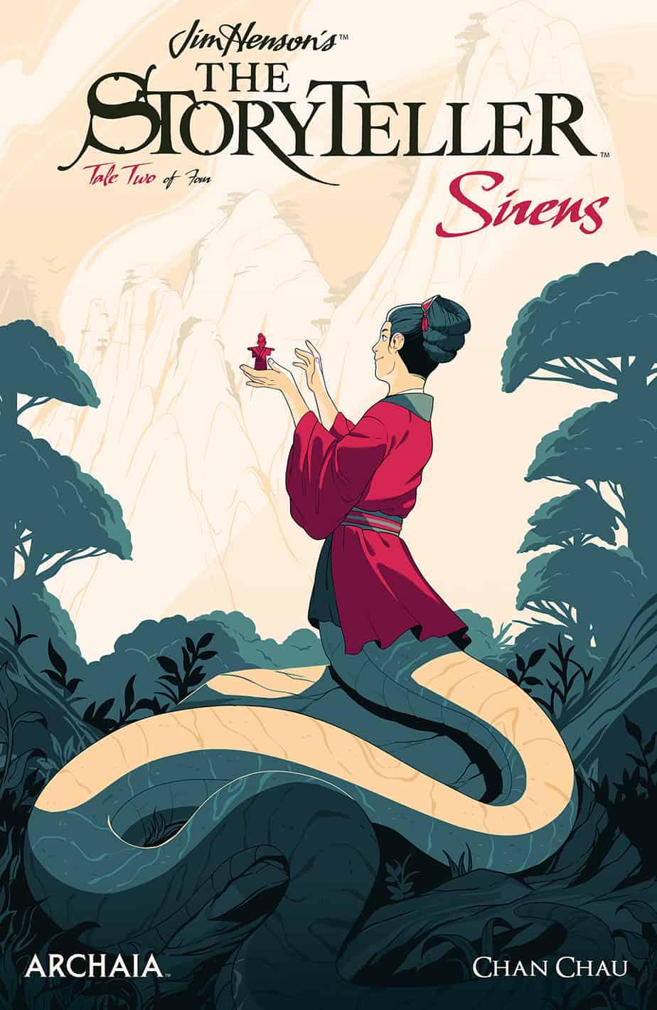 Jim Henson's The Storyteller: Sirens #2 - Preorder Cover