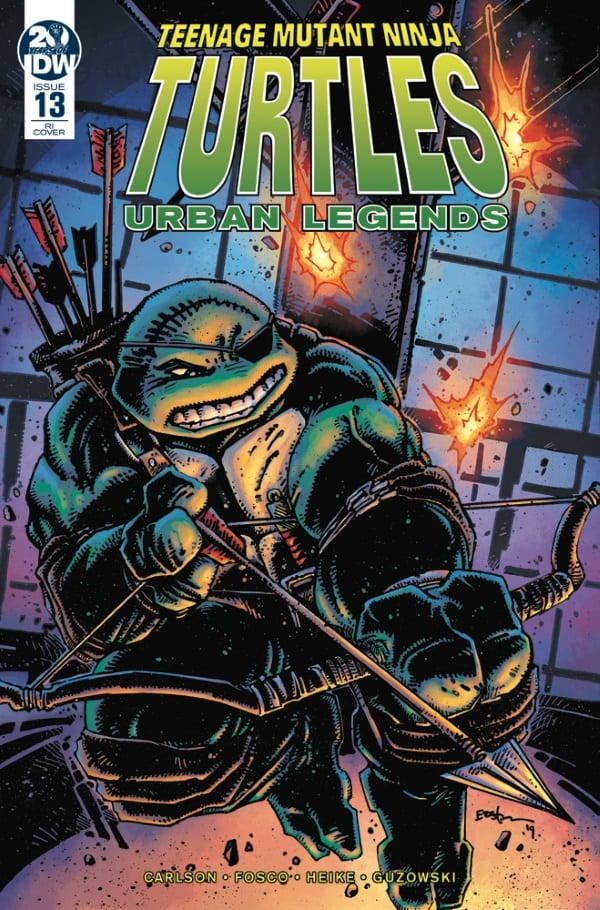 TMNT: Urban Legends #13 - Retailer Incentive Cover