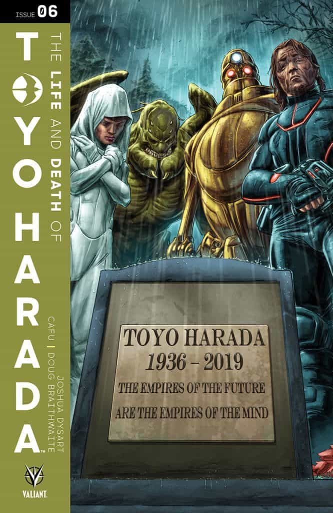 The Life and Death of Toyo Harada #6 - Cover C