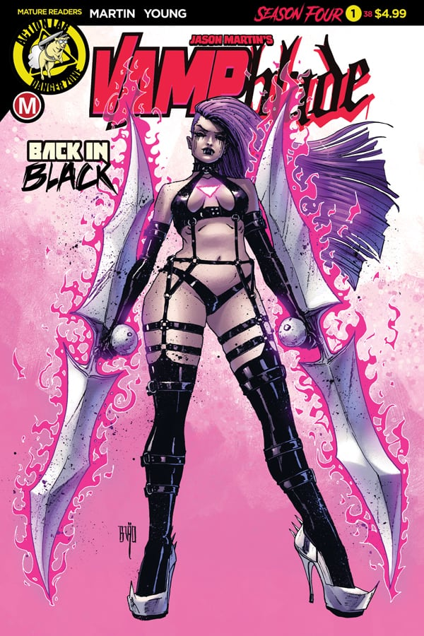 VAMPBLADE Season 4 #1 - Cover A