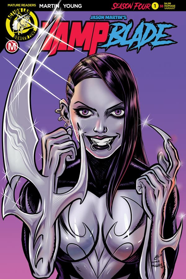 VAMPBLADE Season 4 #1 - Cover E