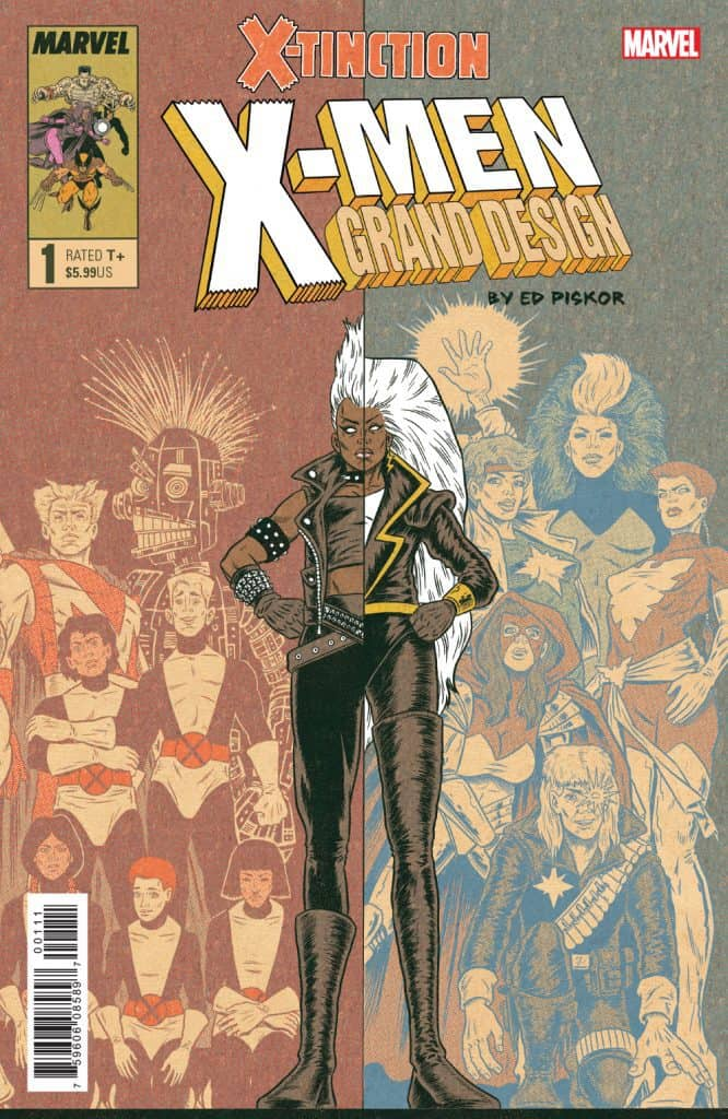 X-MEN GRAND DESIGN - X-Tinction #1 - Cover A
