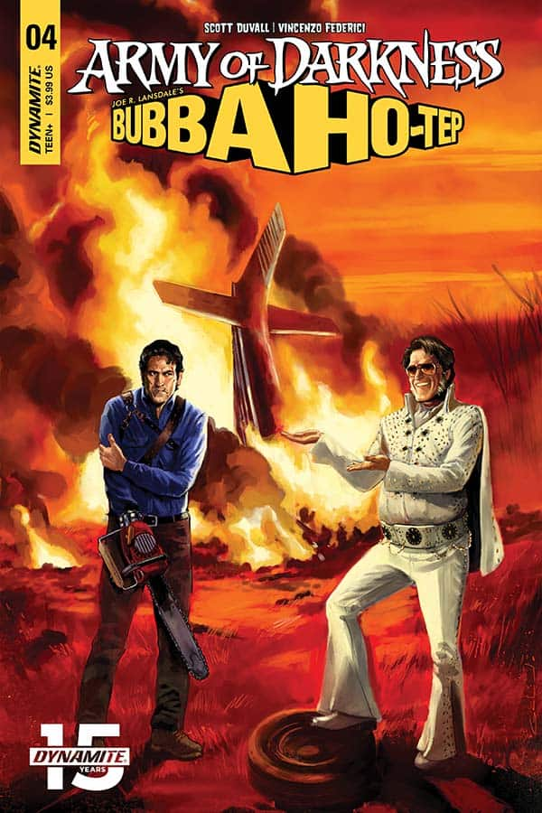Army of Darkness vs. Bubba Ho-Tep #4 - Cover A