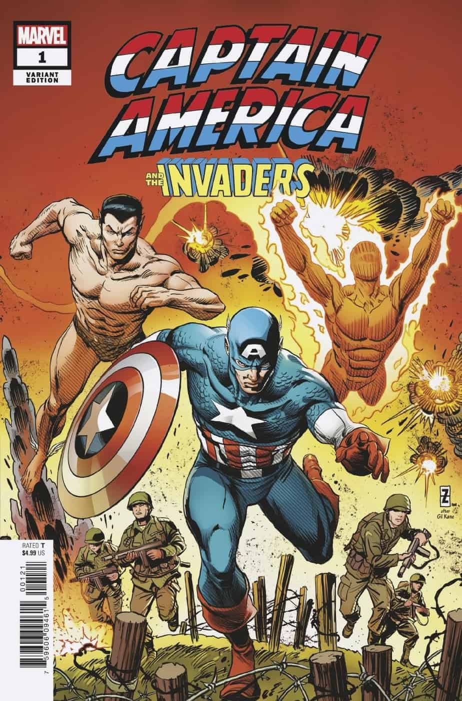 Captain America & the Invaders - Bahamas Triangle #1 Cover C