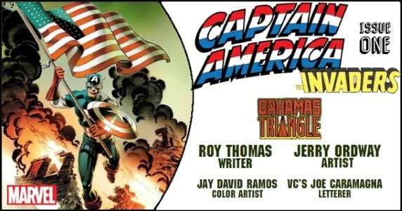 Captain America & the Invaders – Bahamas Triangle #1 preview feature