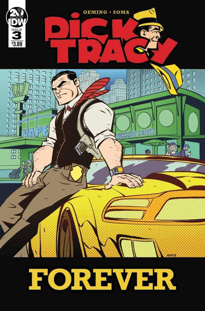 Dick Tracy Forever #3 - Cover A