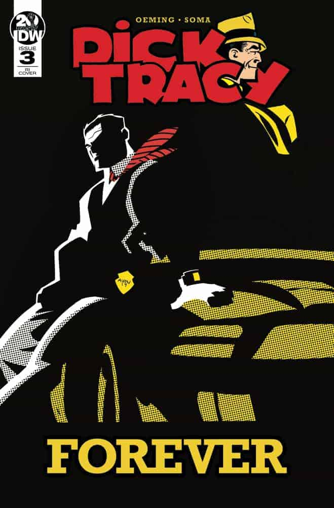 Dick Tracy Forever #3 - Retailer Incentive Variant A