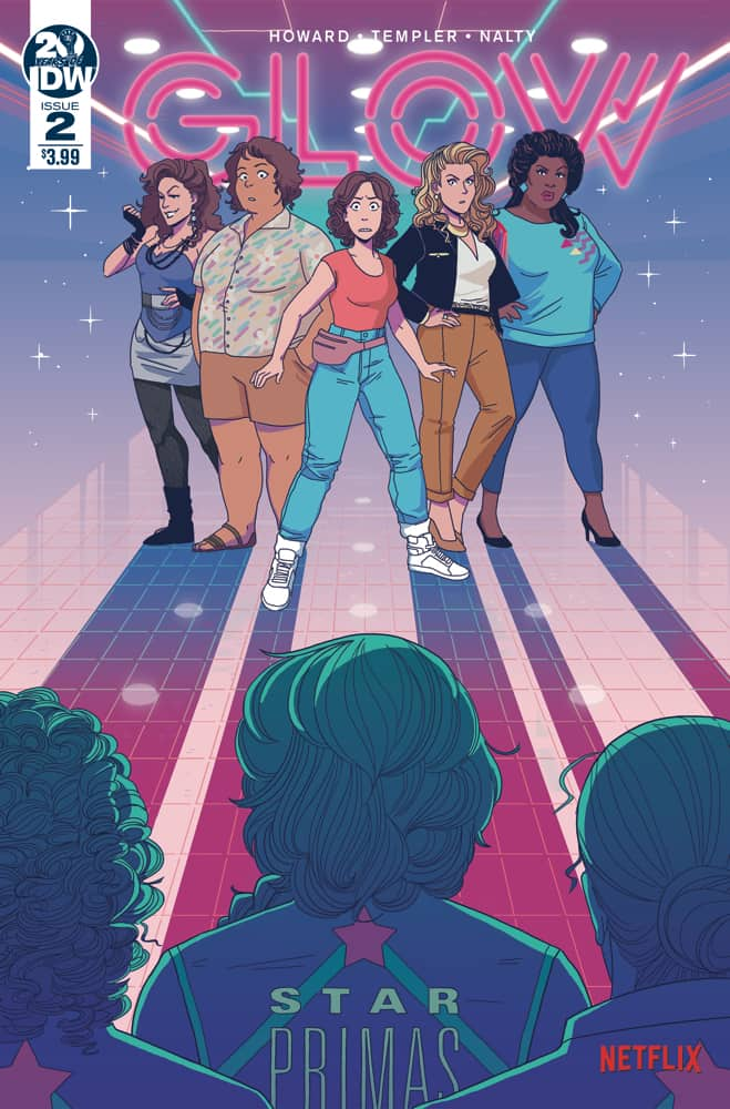 GLOW #2 - Cover A