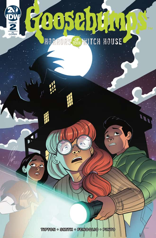Goosebumps Horrors of the Witch House #2 - Retailer Incentive Cover