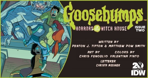 Goosebumps Horrors of the Witch House #2 preview feature