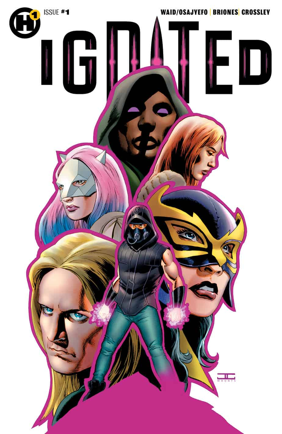 IGNITED #1 - Variant Cover