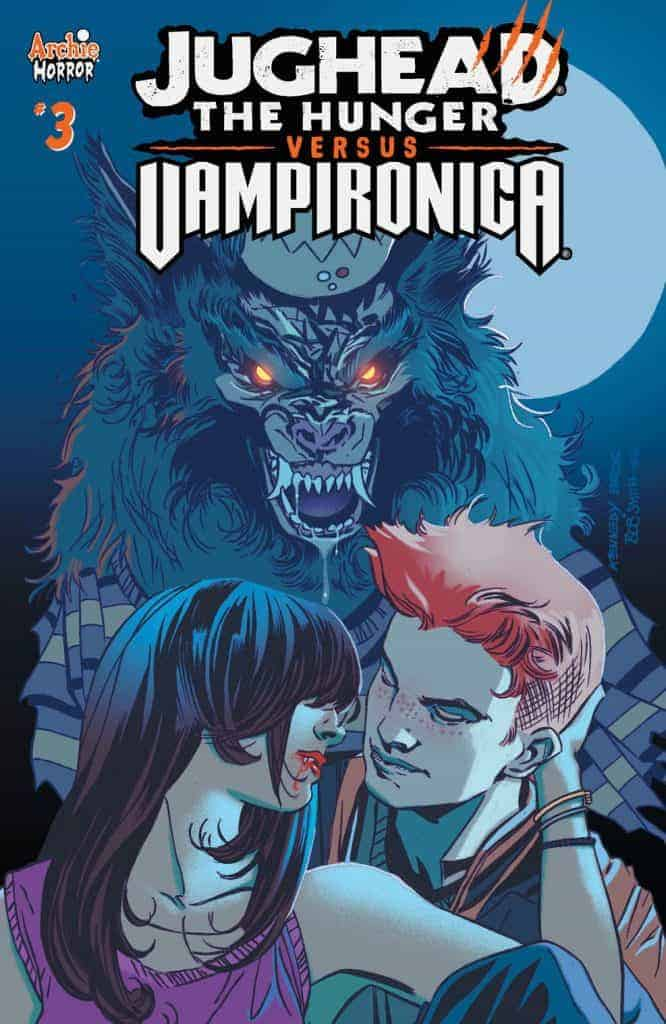 JUGHEAD: THE HUNGER VS. VAMPIRONICA #3 - Main Cover by Pat and Tim Kennedy, Bob Smith, and Matt Herms