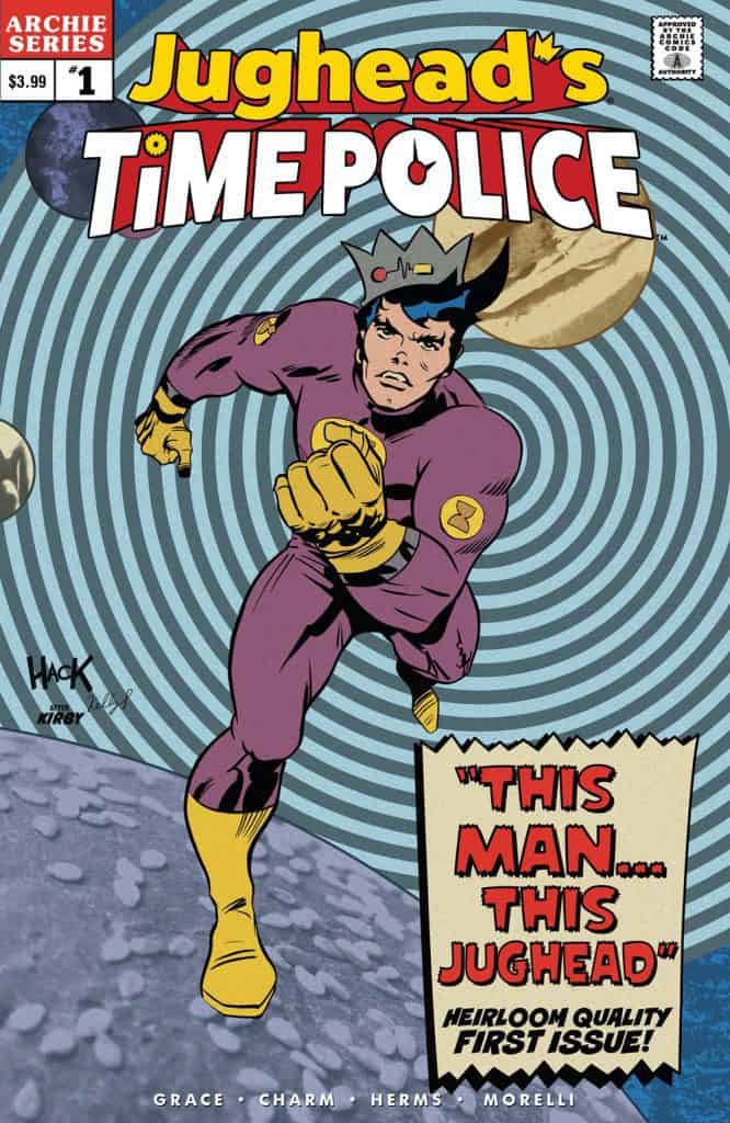JUGHEAD'S TIME POLICE #1 - Variant Cover by Robert Hack