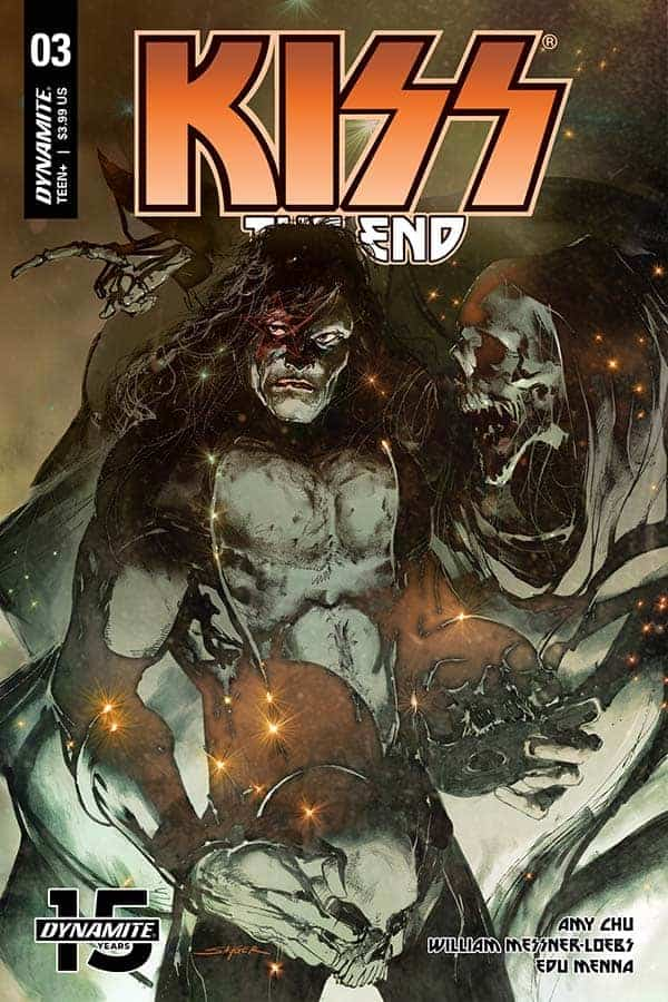 KISS: The End #3 - Cover A
