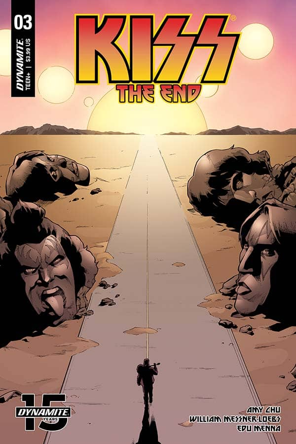 KISS: The End #3 - Cover B