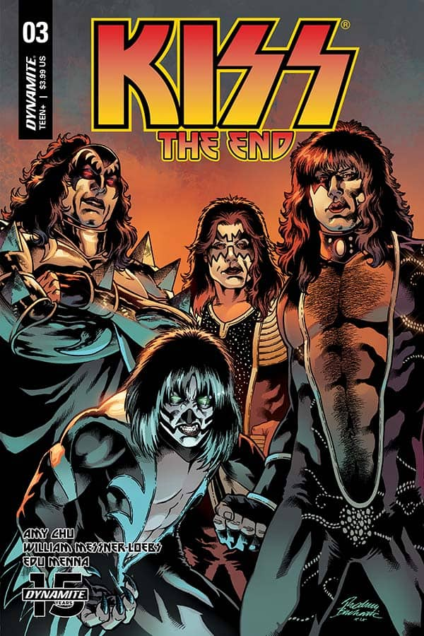 KISS: The End #3 - Cover C