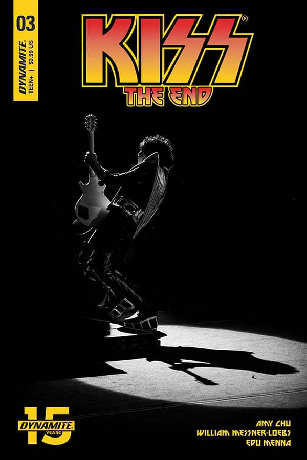 KISS: The End #3 - Cover D