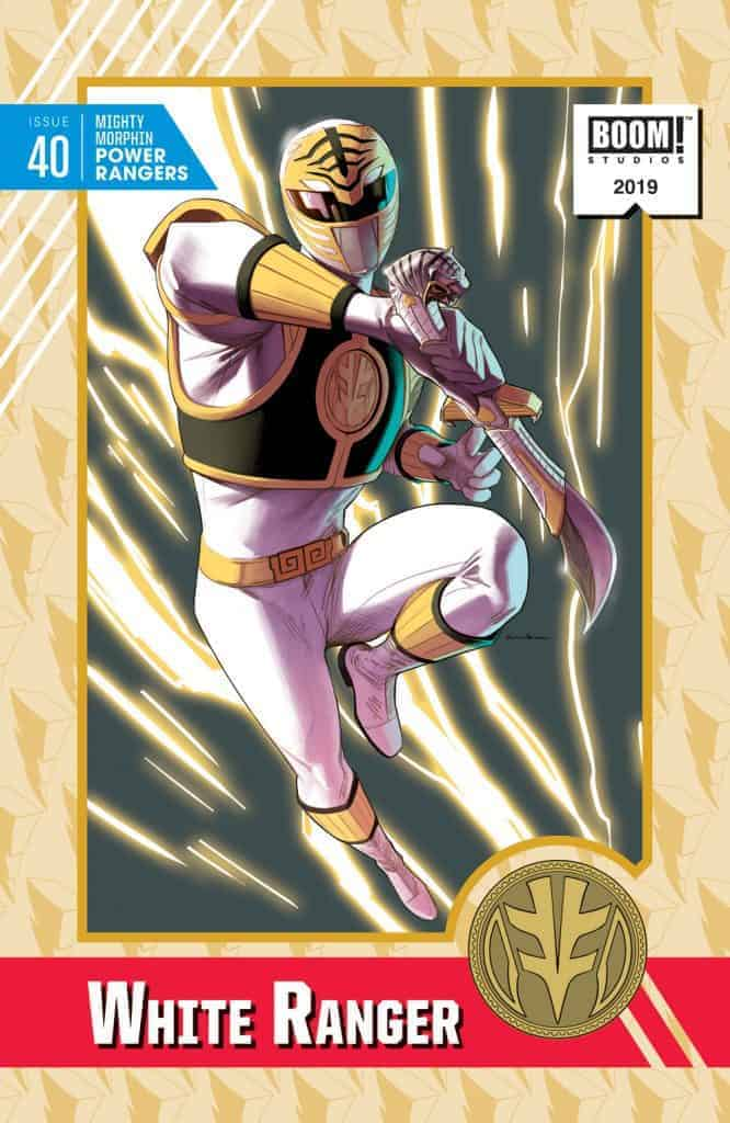 Mighty Morphin Power Rangers #40 - Incentive Cover