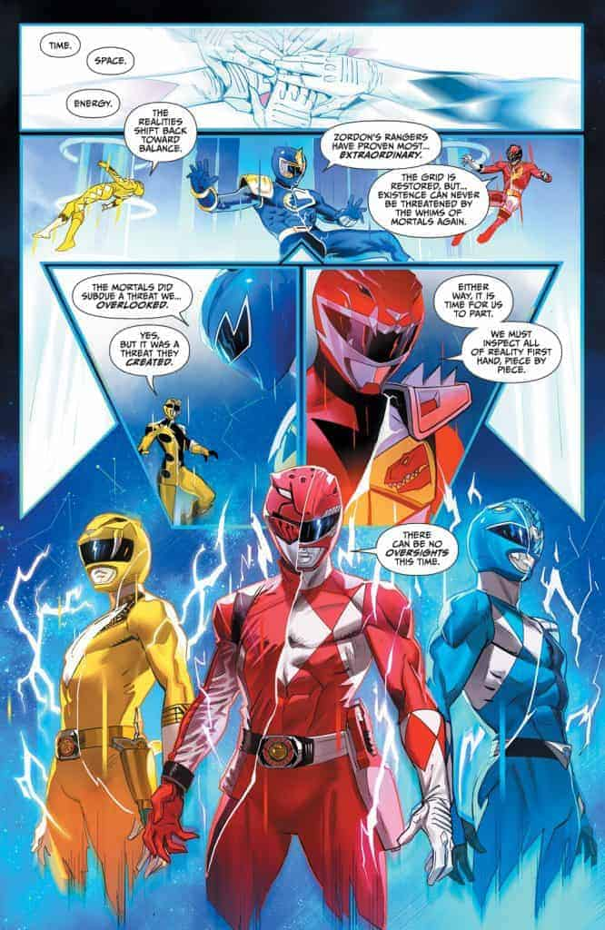 Mighty Morphin Power Rangers #40 - Unlocked Story Cover
