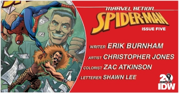 Marvel Action Spider-Man #5 preview feature