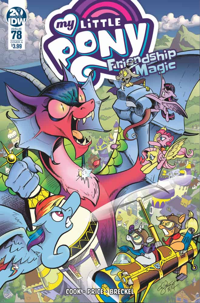 My Little Pony Friendship is Magic #78 - Cover A