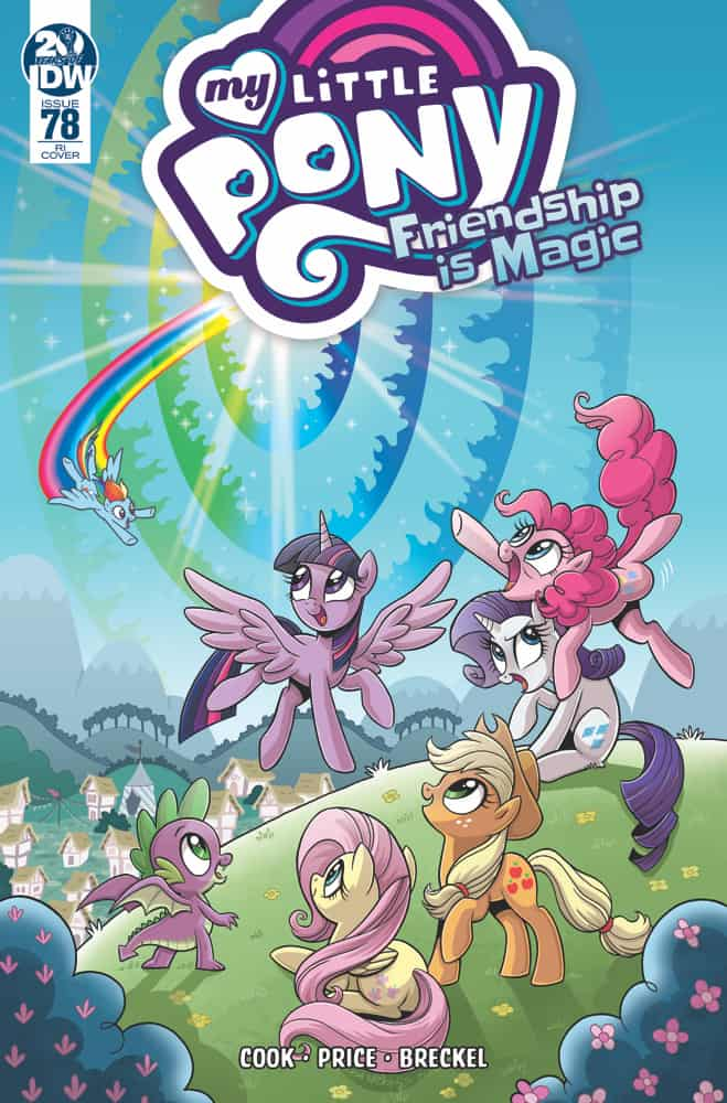 My Little Pony Friendship is Magic #78 - Retailer Incentive Cover