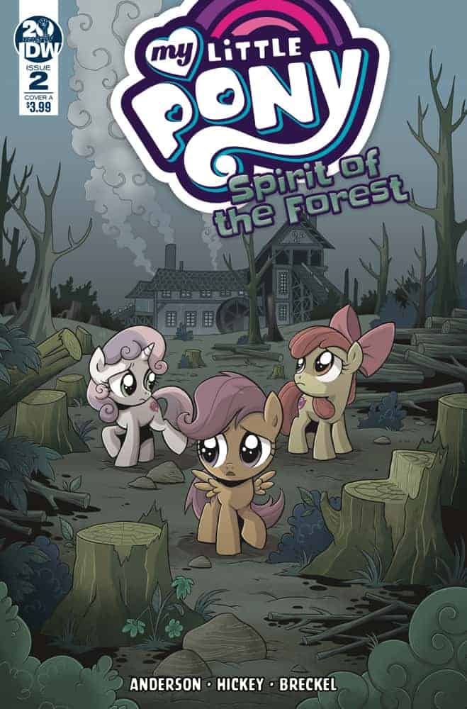My Little Pony Spirit of the Forest #2 Cover A