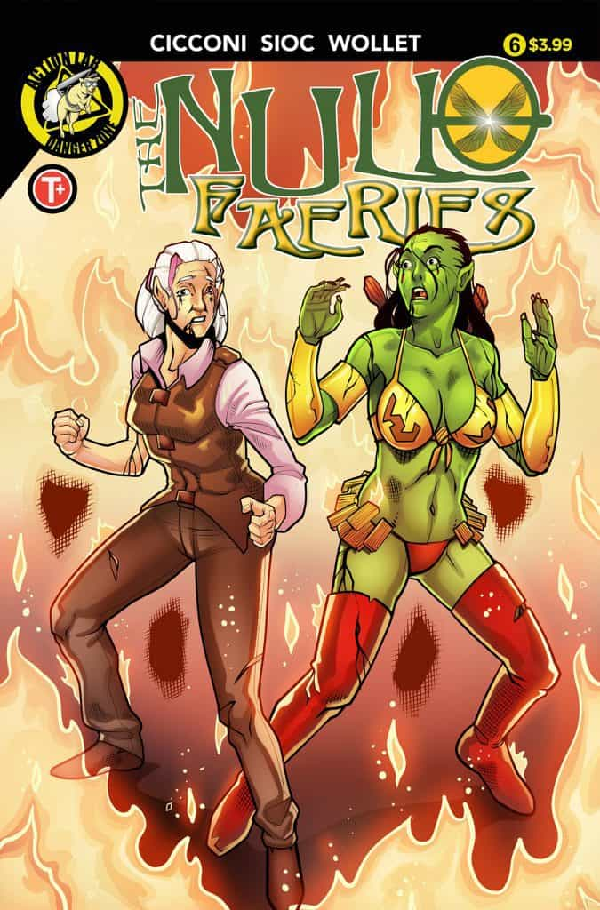 Null Faeries #6 Cover A