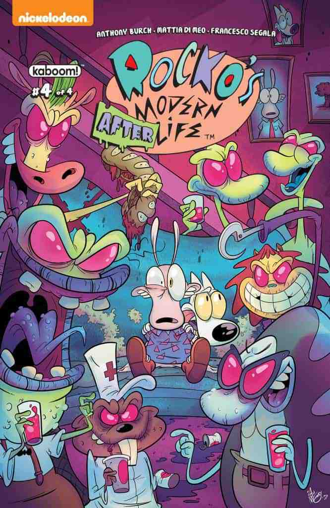 Rocko's Modern Afterlife #4 - Main Cover