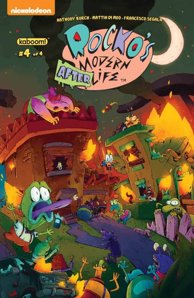 Rocko's Modern Afterlife #4 - Preorder Cover